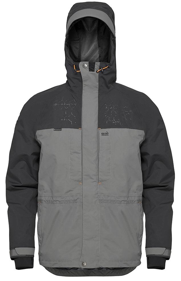 Geoff anderson bunda barbarus šedo černá-velikost s