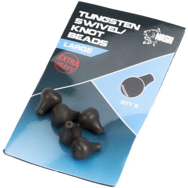 Nash Zarážka Na Obratlík Tungsten Swivel Beads