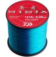 Daiwa Vlasec Ninja X Světlě Modrá-Průměr 0,14 mm / Nosnost 1,6 kg / Návin 4200 m