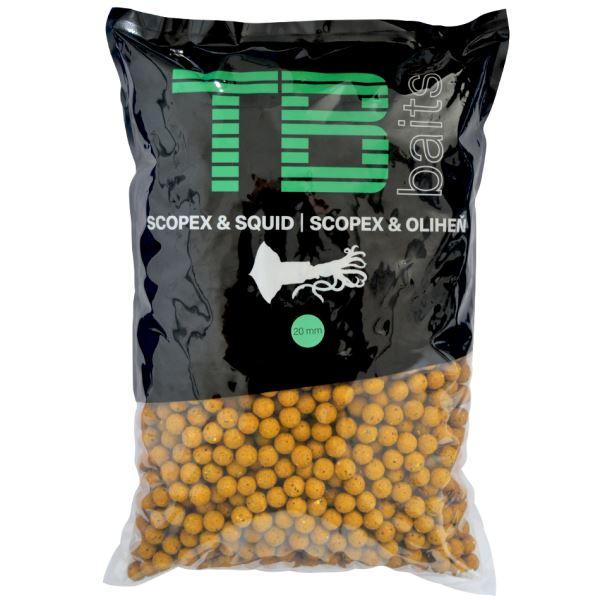 TB Baits Boilie Scopex Squid
