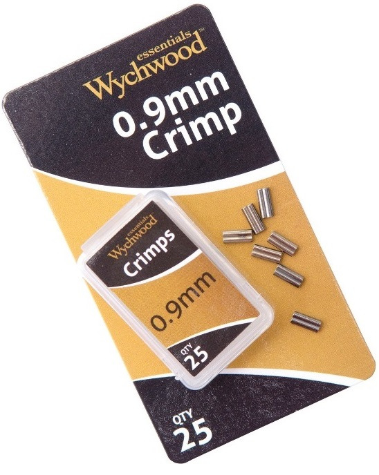Wychwood crimps kovové spojky 25 ks-0,9 mm