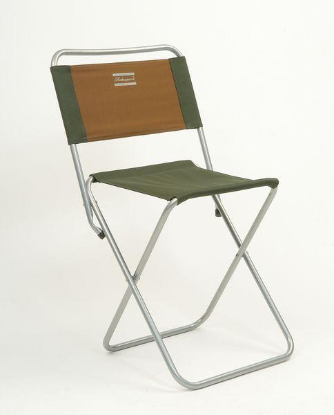 Shakespeare stolička s opěrkou folding backrest stool