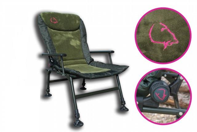 Lk baits křesílko camo arm chair
