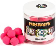 Mikbaits Plovoucí Boile Fluo 250 ml 18 mm-Oliheň