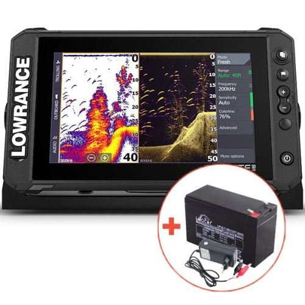 Lowrance Echolot Elite FS 9 Se Sondou Active Imaging 3V1