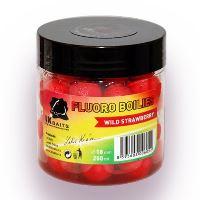 LK Baits Boilie Fluoro 250 ml 18 mm-wild strawberry