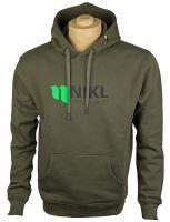 Nikl Mikina Zelená New Logo-Velikost XXXL