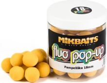 Mikbaits Plovoucí Boile Fluo 250 ml 18 mm-Pampeliška