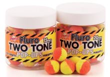 Dynamite Baits Pop-Ups  Fluro Two Tone Tutti-Frutti & Pineapple-15 mm