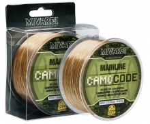 Mivardi Vlasec CamoCode Mainline Camo 600 m-Průměr 0,385 mm / Nosnost 14,50 kg