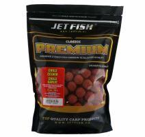 Jet Fish Boilie Premium Clasicc 700 g 20 mm-chilli česnek