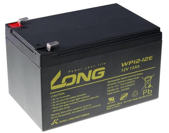 Long baterie 12v 12ah deepcycle agm f2