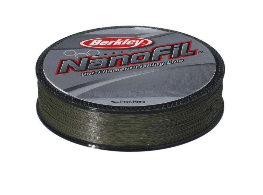 Berkley vlasec nanofil green 125 m -průměr 0,28 mm / nosnost 20,126 kg