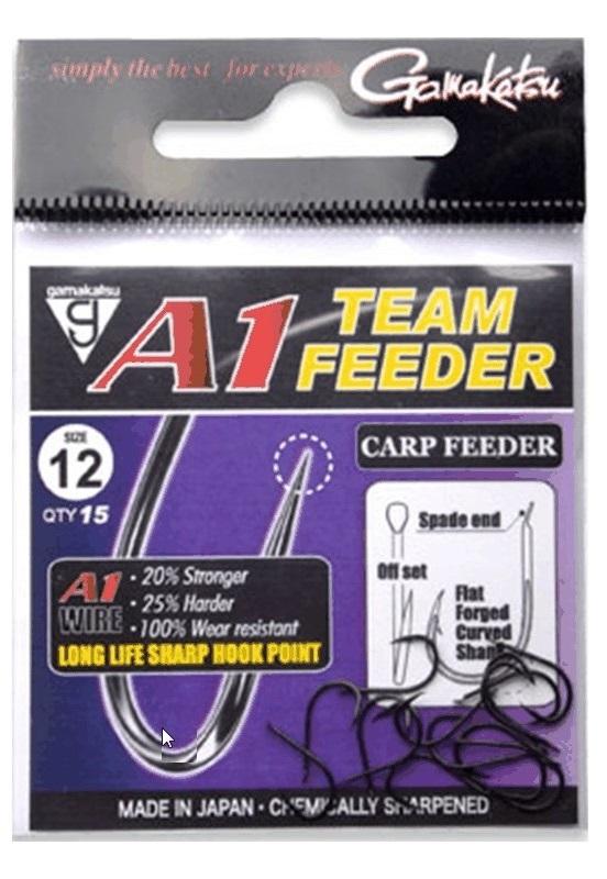 Gamakatsu háčky a1 team feeder carp feeder-velikost 14