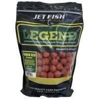 Jet Fish Boilie LEGEND Robin red + A.C. brusinka-1 kg 30 mm