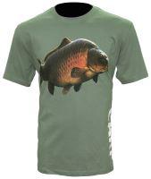 Zfish Tričko Carp T-Shirt Olive Green-Velikost XL