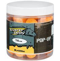 Carp Only Pop Up Krillic Krill & Česnek 80 g-12 mm