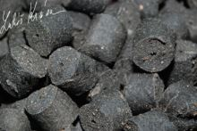 LK Baits Pelety Salt Black Hallibut-1 kg 4 mm