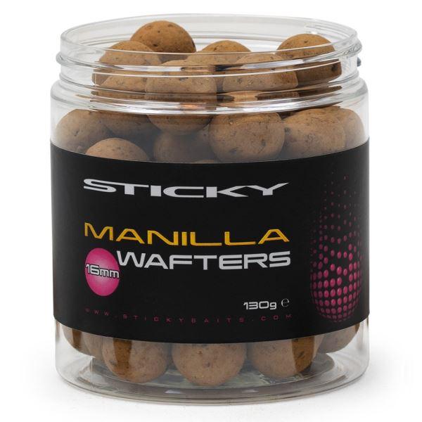 Sticky Baits Neutrálně Vyvážené boilie Manilla Wafters 130 g - 16 mm