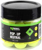 Nikl Fluoro Pop Up Neutral 18 mm 50 g-Žlutá