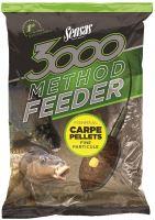 Sensas Krmení 3000 Method Feeder 1 kg-carpe pellets