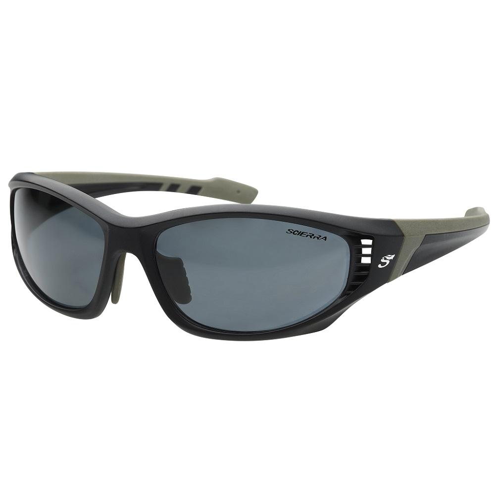 Scierra brýle wrap arround ventilation sunglasses grey lens