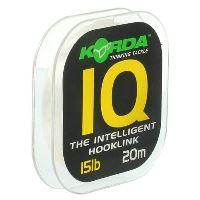 Korda Fluorocarbon  IQ The Intelligent Hooklink 20 m-Nosnost 20 lb