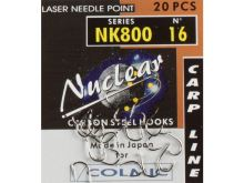 Colmic  háček Nuclear NK800 20ks Velikost 4