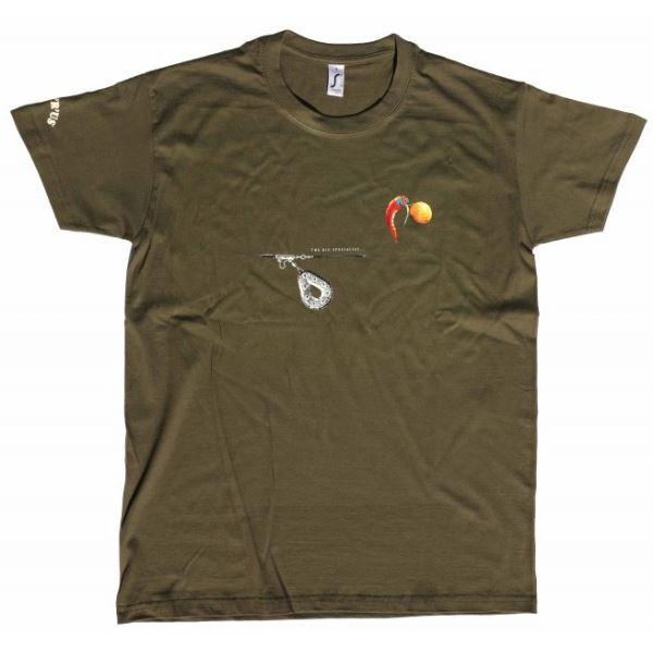 Carp´R´Us Tričko Mouthsnagger Army Zelená
