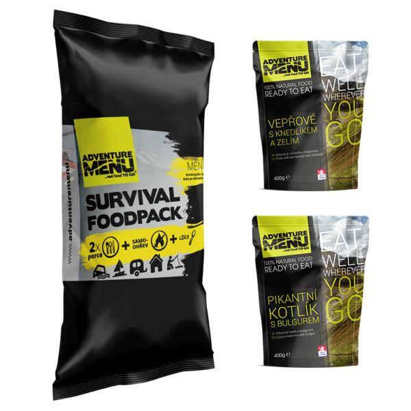 Adventure Menu Survival Food Pack Menu 2