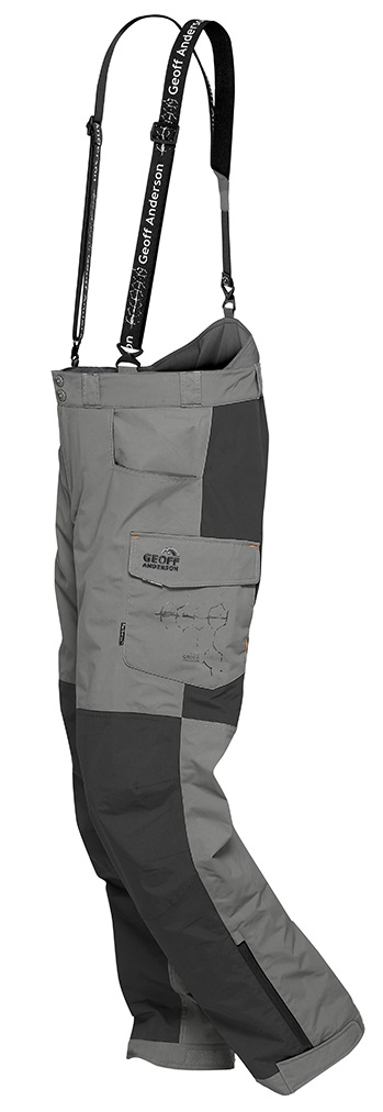 Geoff anderson kalhoty barbarus šedo černá-velikost l