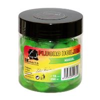 LK Baits Boilie Fluoro 250 ml 18 mm-mussel