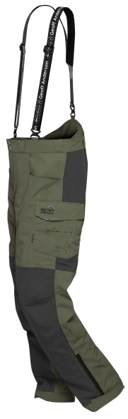 Geoff anderson kalhoty barbarus zeleno černá-velikost m