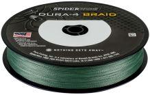 Spiderwire Splétaná Šňůra DURA4 150 m Green-Průměr 0,10 mm / Nosnost 9,1 kg