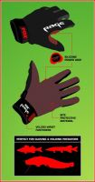 Fox Rage Rukavice Gloves-Velikost XXL
