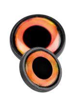 Spro Oči Na Nástrahy Big Eye Screw Orange-12 mm