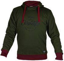 Carpstyle Mikina Green Forest Hoodie-Velikost M