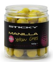 Sticky Baits Plovoucí Boilies Manilla Pop-Ups Yellow Ones 100 g-16 mm