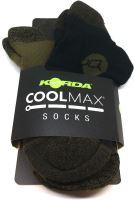 Korda Ponožky Kore Coolmax Sock-Velikost 44-46