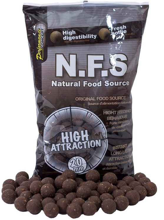 Starbaits boilies concept nfs -1 kg 10 mm