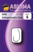 Ashima  Háčky  C410 Indispens.Carp  (10ks).-Velikost 8