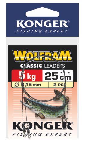 Konger lanko wolframové classic 2 ks 20 cm - 10 kg