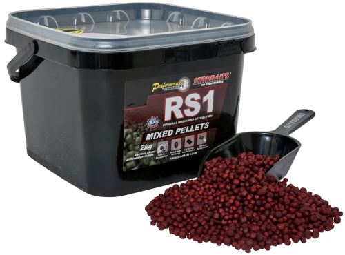 Starbaits Pelety RS1 Mixed 2 kg