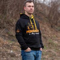Mikbaits Mikina Fans team černá - Velikost XXL