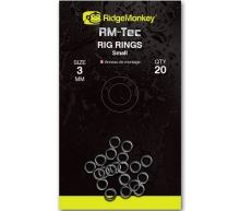 RidgeMonkey Kroužky Rig Rings-2,5 mm