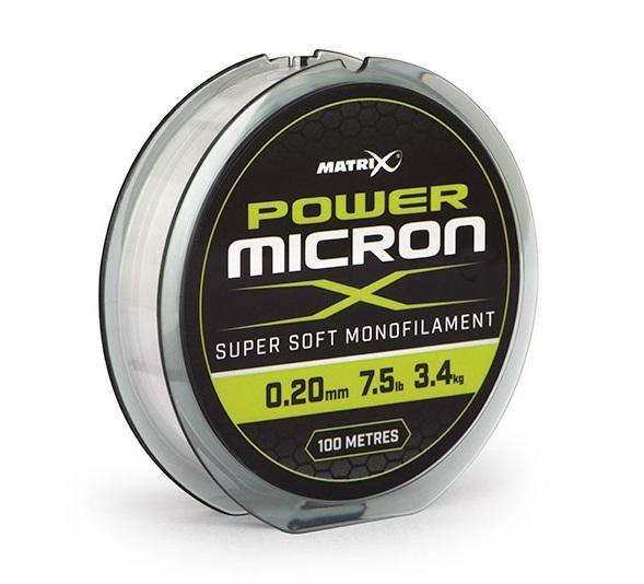 Matrix vlasec power micron x 100 m - 0,20 mm - 3,5 kg