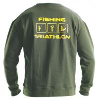 Doc Fishing Mikina Triathlon zelená-Velikost XXL