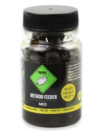 Nikl Pelety Method Feeder Black Halibut 8 mm 50 g