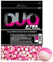 LK Baits Boilie Duo X-Tra Wild Strawberry/Carp Secret-1 kg 18 mm