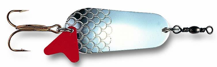 Dam třpytka standard spoon sinking silver - 3,2 cm 6 g